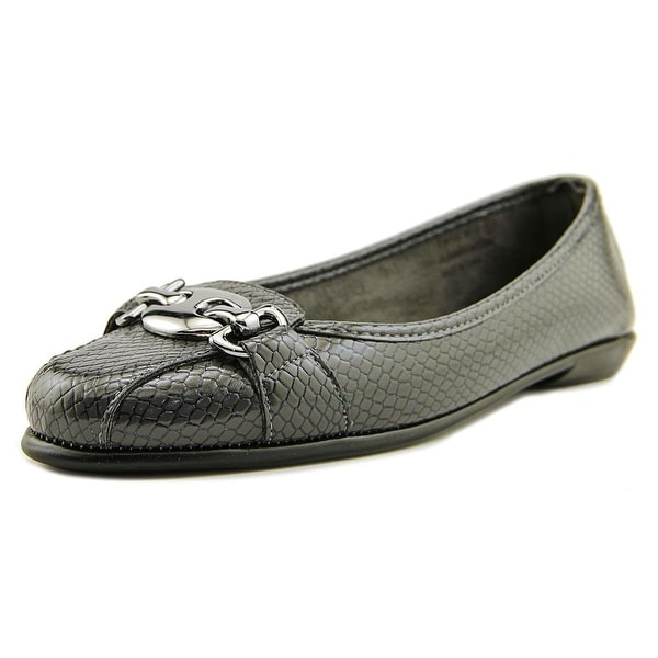 A2 By Aerosoles In Between Women Round Toe Synthetic Gray Loafer