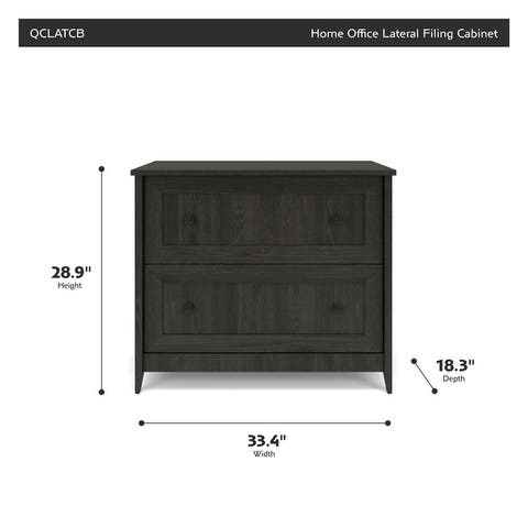 Quarters & Craft Home Office Lateral Filing Cabinet (QCLAT)
