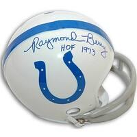 Raymond Berry signed Baltimore Colts TB 2Bar Mini Helmet HOF 73