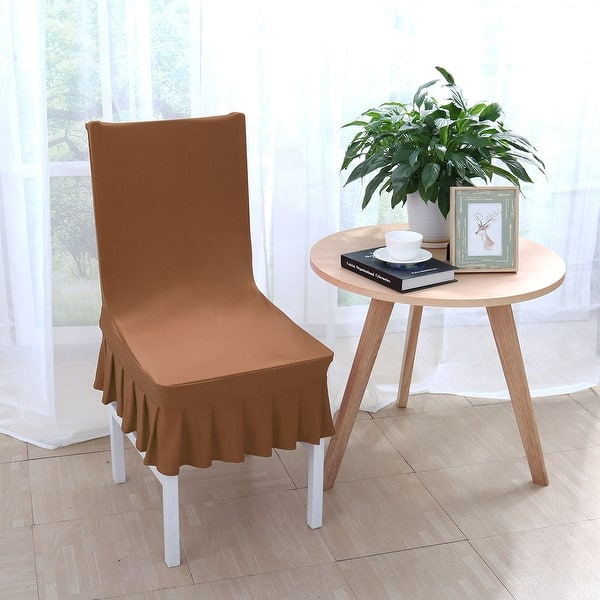 Astonishing Shop Stretchy Thicken Plush Short Dining Room Chair Covers Bralicious Painted Fabric Chair Ideas Braliciousco