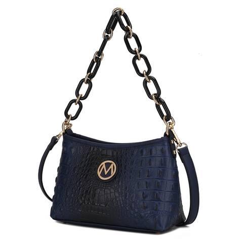 MKF Collection Rossy Croco Crossbody Bag