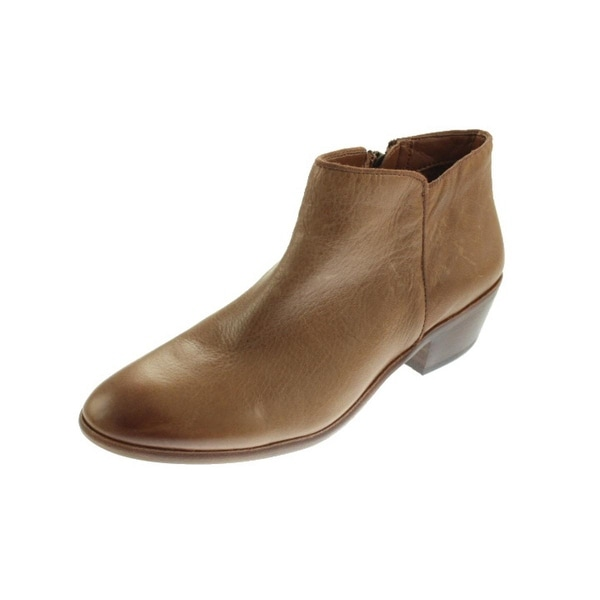 207a34eb09604 Shop Sam Edelman Womens Petty Ankle Boots Leather Round Toe - Free ...