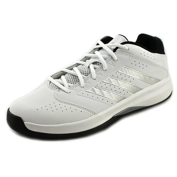 Adidas Isolation 2 Low Men Round Toe Leather White Sneakers