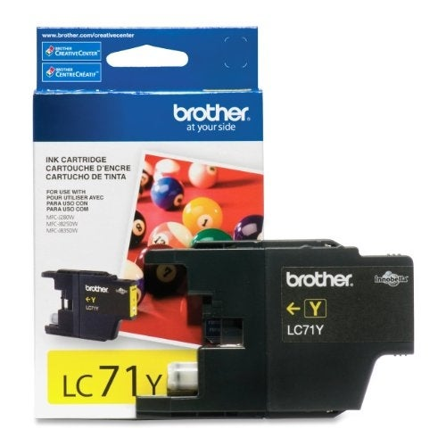 Brother LE4341Y Brother LC71Y Yellow Ink Cartridge