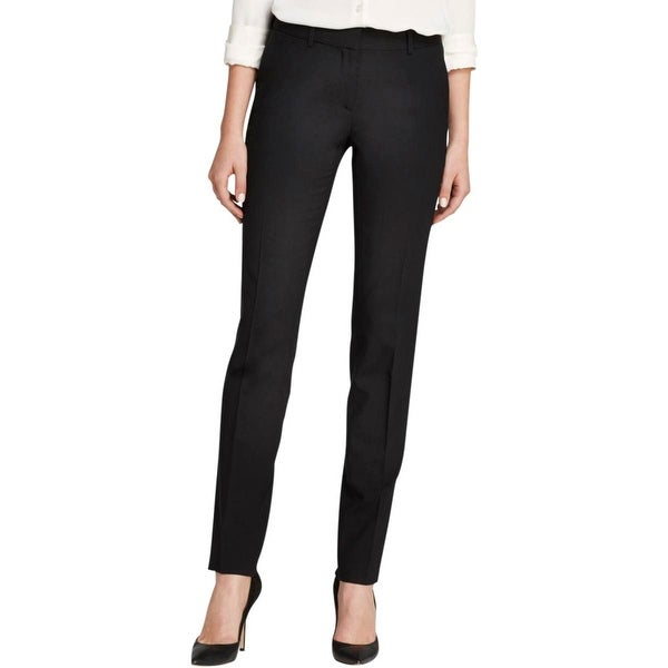 Theory Womens Dress Pants Wool Solid