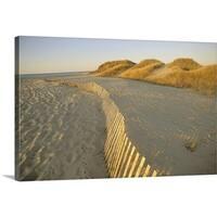 Premium Thick-Wrap Canvas entitled Long Island New York - Multi-color