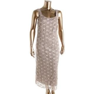 R & M Richards Womens Plus Lace 2PC Dress With Jacket