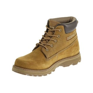 Caterpillar Mens Founder Boots in Bronze