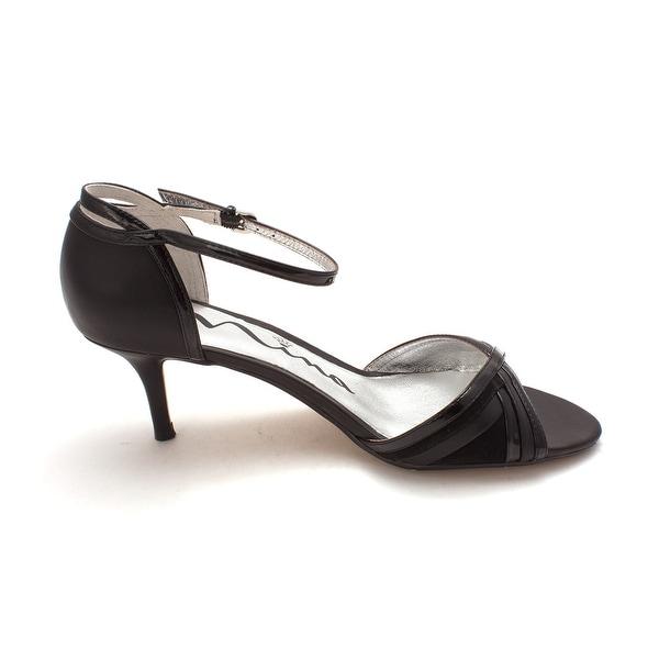 Nina Womens Chantelle Open Toe Ankle Strap D-orsay Pumps