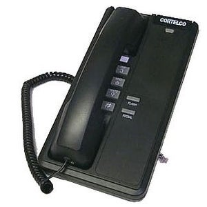 Cortelco ITT-2192BK Corded Phone w/ Message Waiting Indicator/ Visual Ringer NEW