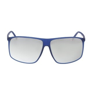 Porsche P8594-D Blue Rectangle Sunglasses - 62-12-140