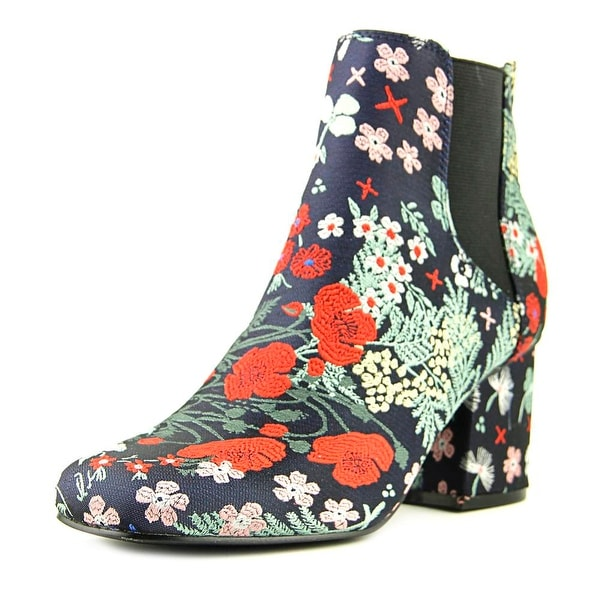 Indigo Rd. Veraly 2 Women Round Toe Canvas Multi Color Ankle Boot