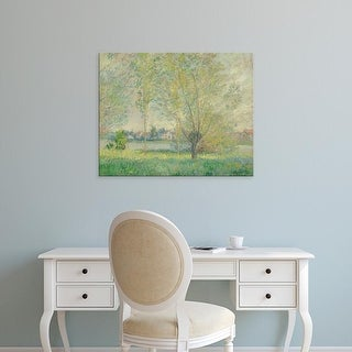 Easy Art Prints 's 'The Willows, 1880' Premium Canvas Art
