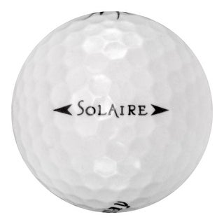 50 Callaway Solaire - Value (AAA) Grade - Recycled (Used) Golf Balls