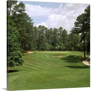 """""""Golf course at Pinehurst Resort, Pinehurst, Moore County, North Carolina"""" Canvas Wall Art"""