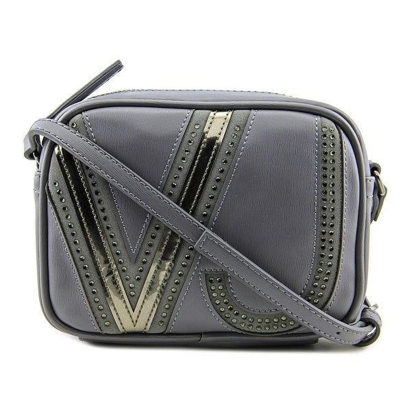 Versace Jeans Couture E1VMBBJ7 Women Leather Messenger - gray