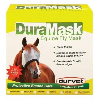 Durvet DUJ063 Duramask Horse Fly Mask, Mesh, X-Large