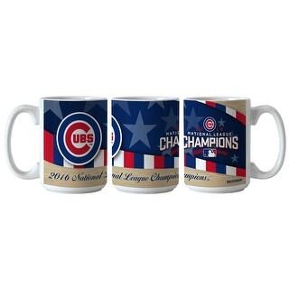 Chicago Cubs 2016 National League Champions Ceramic Mug