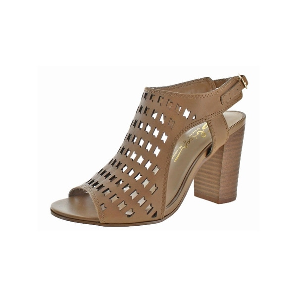 Sbicca Womens Dress Sandals Open Toe Stacked Heel