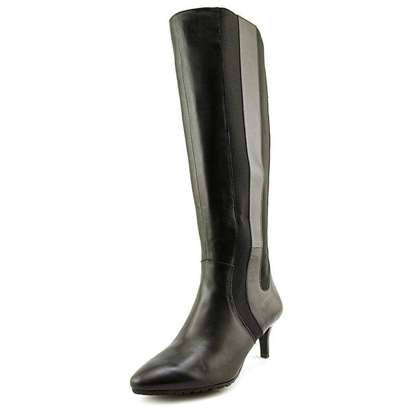 Tahari Fiore Wide Calf Leather Knee High Boot - 5.5