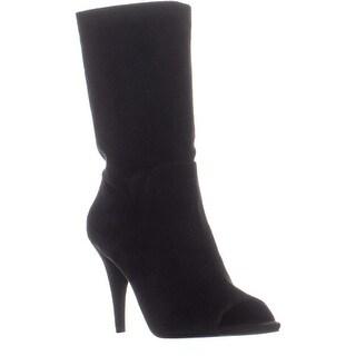 MICHAEL Michael Kors Elaine Open Toe Boots, Black - 10 us / 40 eu