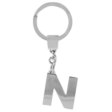 Pilot Automotive Silver Alphabet Letter N to Z Key Chain