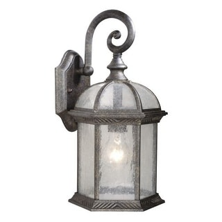 Vaxcel Lighting OW39783 Chateau 1 Light Outdoor Wall Sconce - 8.25 Inches Wide