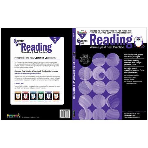 Common Core Reading Gr 7 Warmups & Test Practice