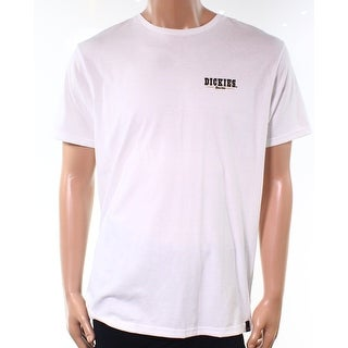 Dickies NEW White Mens Size XL Short-Sleeve Crewneck Graphic Tee T-Shirt