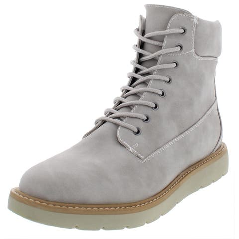 Cliffs by White Mountain Womens Marissa Ankle Boots Faux Leather Padded Collar