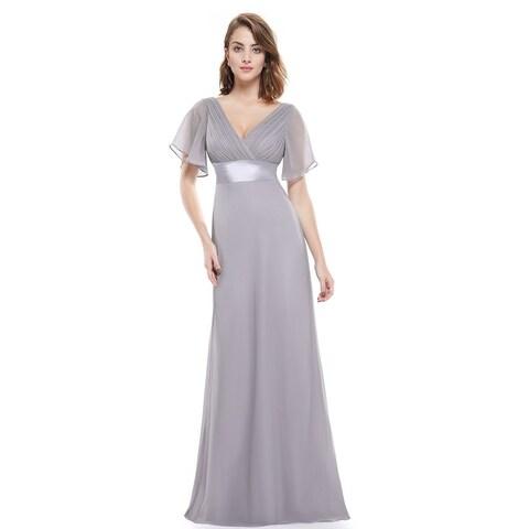 Ever-Pretty Womens Glamorous double V-neck Evening Dress 09890