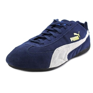 Puma Speed Cat Youth Round Toe Suede Blue Sneakers