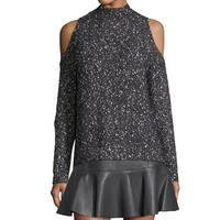 Rebecca Taylor NEW Blue Women's Size XS Turtleneck Mock Sweater