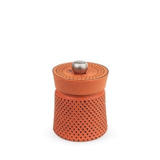 "Peugeot 35426 Bali FONTE Manual Pepper Mill, 8cm/3"", Cast Iron, Orange"