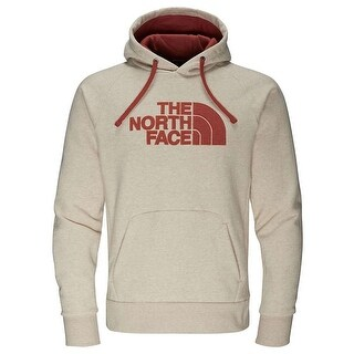 The North Face Men's Avalon Half Dome Waffle Hoodie TNF Oatmeal Heather