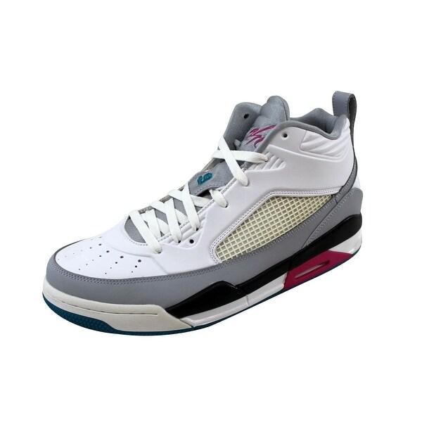 Nike Men's Air Jordan Flight 9.5 Wolf Grey/White 654262-115 Size 11