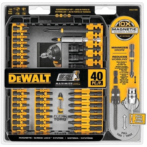 Dewalt Dwa2T40Ir 40-Piece Impact-Ready Screwdriver Set