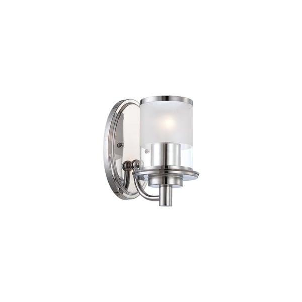 Designers Fountain 6691 Essence 1 Light Wall Sconce Bathroom Fixture - Chrome