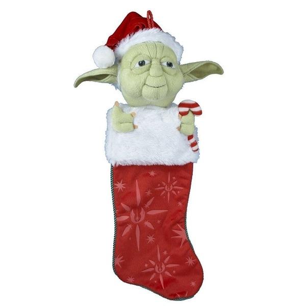 Star Wars Yoda Plush Head Stocking