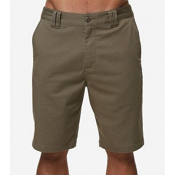 aeadbf8b569f93 Shop O Neill Green Mens Size 32 Chinos Hybrid Stretch Walk Shorts ...
