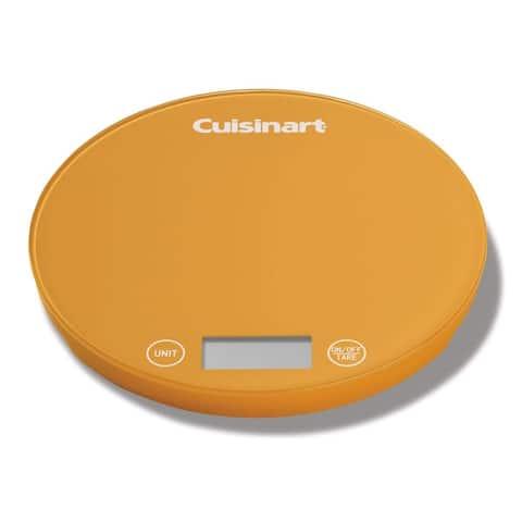 Cuisinart KFS-1OR DigiPad Digital Kitchen Scale, Orange