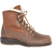 Martino Women's Canadian Snow Park Boot Brown Grizzly Leather