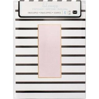 Stripe -Envelopes, 3 x 4 in. - Pack of 4