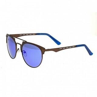 Breed Sunglasses BSG039BN Hercules Sunglasses, Brown