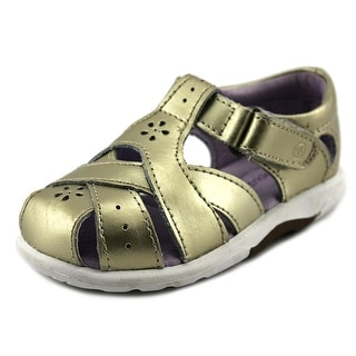 Stride Rite Tulip Toddler Round Toe Synthetic Gold Walking Shoe