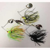 Eagle Claw Spinner Baits 1/4oz Assorted Colors/Blades