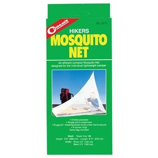 Coghlans 159312 Hikers Mosquito Net