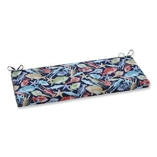 """45"""" Deep Blue Sea Outdoor Patio Bench Cushion"""