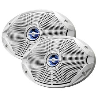 JBL Ms9520 6 X 9 Coaxial Speakers White - MS9520