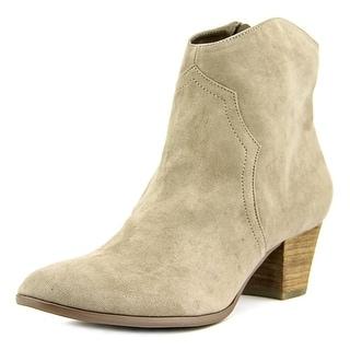 Carlos by Carlos Santana Harper Women  Round Toe Canvas Gray Ankle Boot